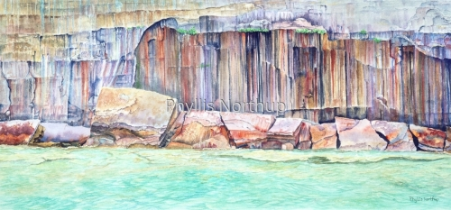 Rock Geometry by Phyllis Northup