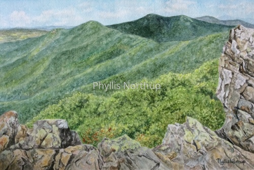 Hawksbill Summit by Phyllis Northup