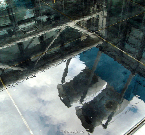 Refleted structure by Pierre Brule' Fine Art Photography