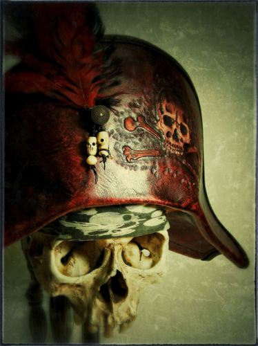 Blood Red Bicorne