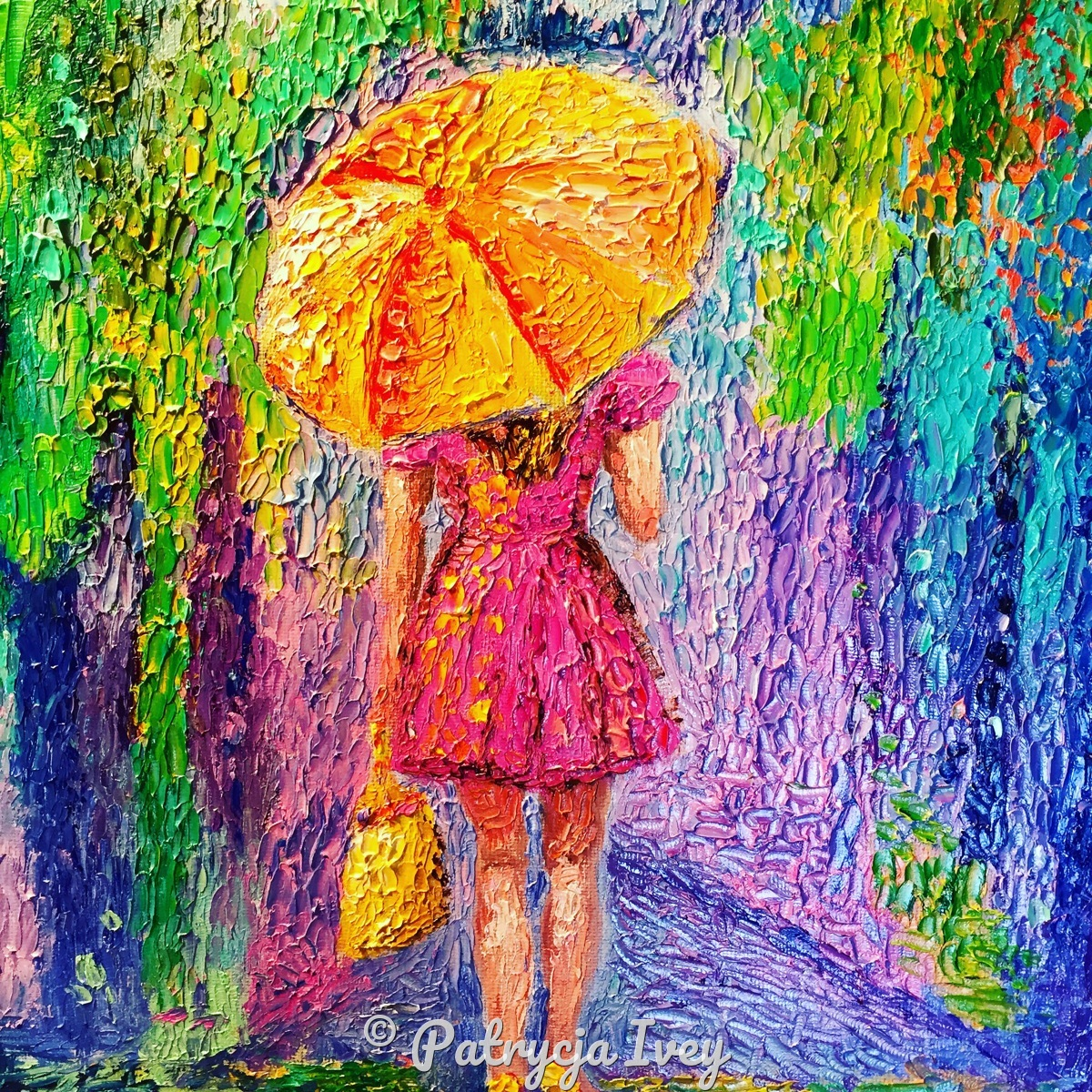 Girl with Umbrella  (large view)