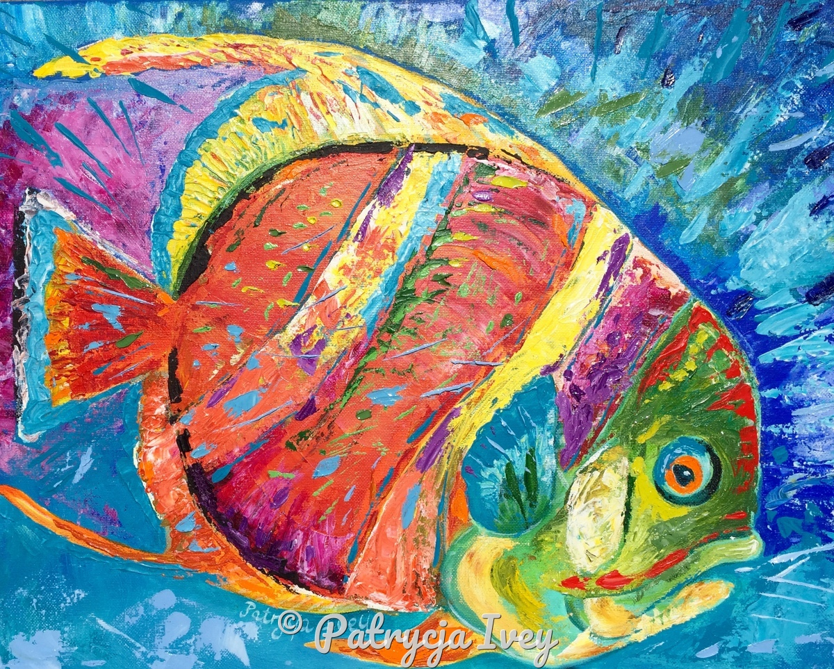 Vibrant Fish (large view)