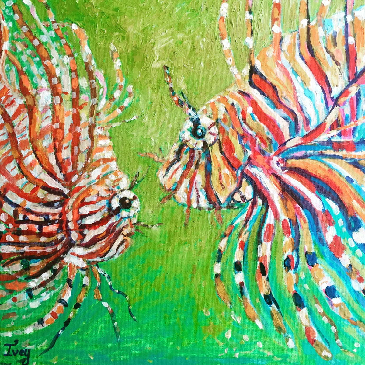 Lionfishes (large view)