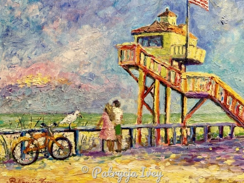 Lifeguard Tower in New Smyrna Beach