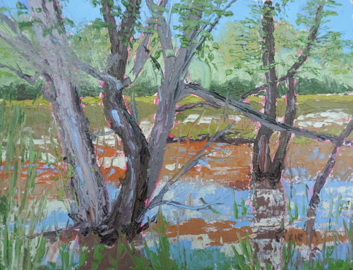 """""""Hidden Pond"""" by Pixie N. Glore"""