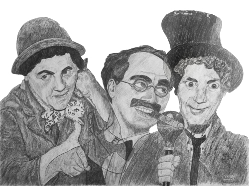 Marx Bros by Paul Julian