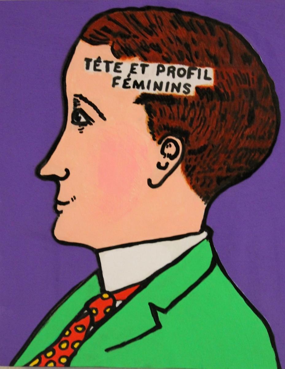 TETE FEMININS (large view)