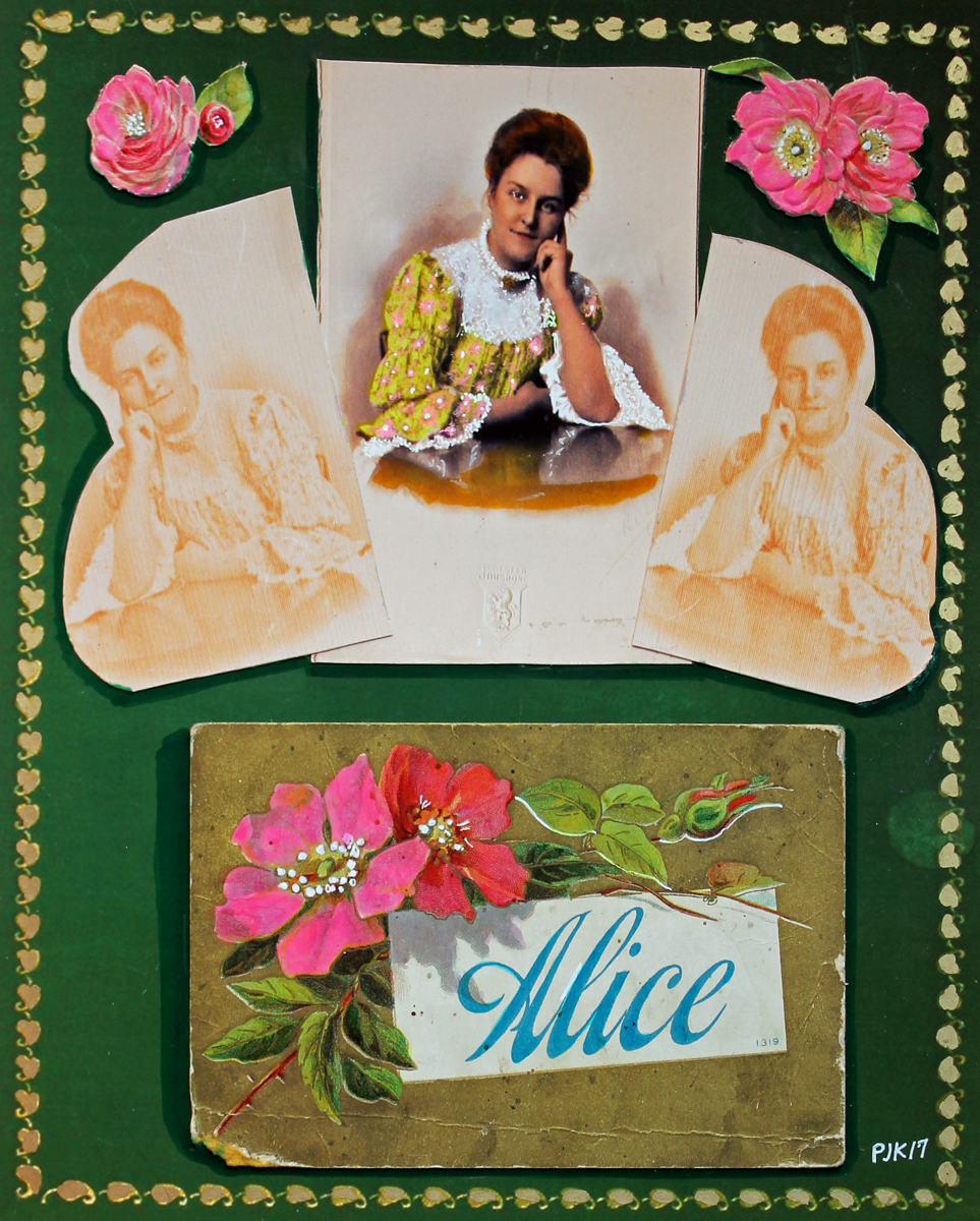 ALICE FADING (TRIPTYCH) (large view)