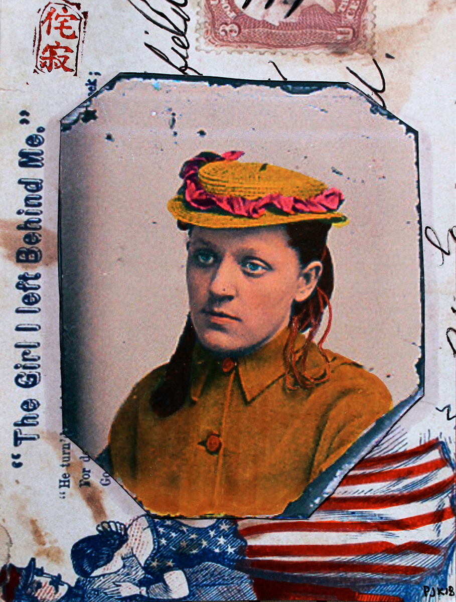 CIVIL WAR GIRL WITH LETTER (WABI-SABI) (large view)