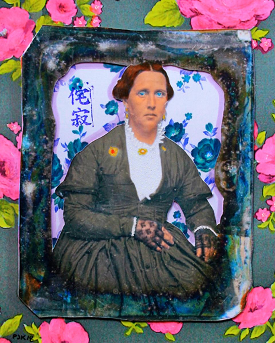 MRS. HERNDON, CIvil War Widow (large view)