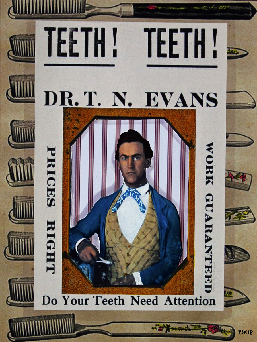 THADDEUS N. EVANS CIVIL WAR DENTIST  (large view)