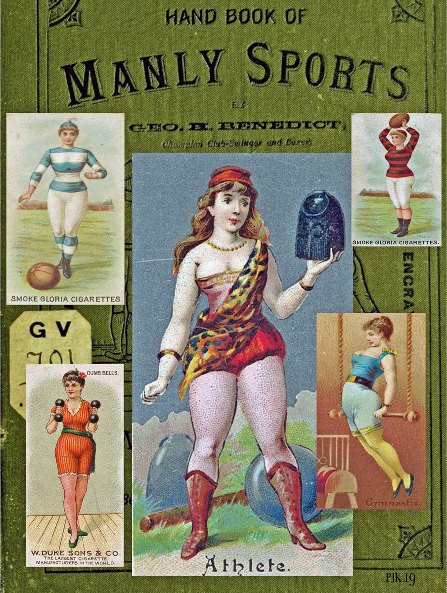 """MANLY SPORTS NOT MEANT FOR LADIES"" (large view)"
