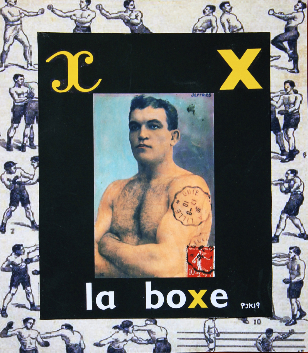 B IS FOR LA BOXER (large view)