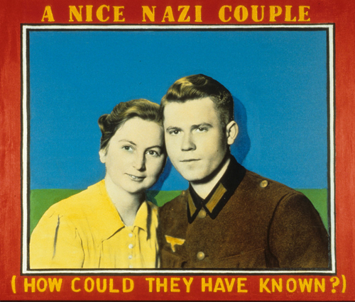 A Nice Nazi Couple (How Could They Have Known?) (large view)