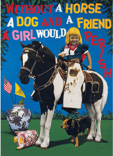 A Girl, A Horse, A Dog by Peter J. Ketchum