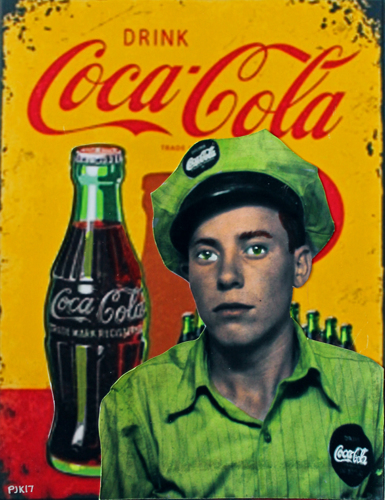 WALT THE COCA-COLA GUY (BEFORE THE WAR) by Peter J. Ketchum