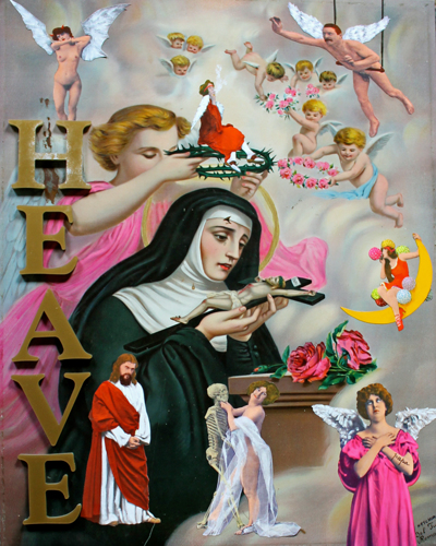 Heave[n] with St. Rita Patron Saint of the Impossible and Lost Causes