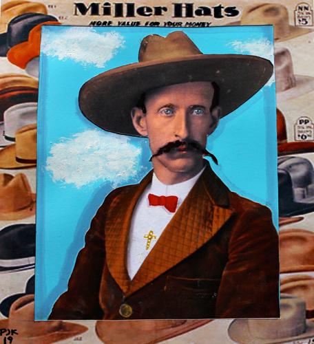 COY COLDREN'S NEW HAT, TEXAS (large view)