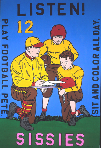 Why Sissy Artists Should Play Football (large view)