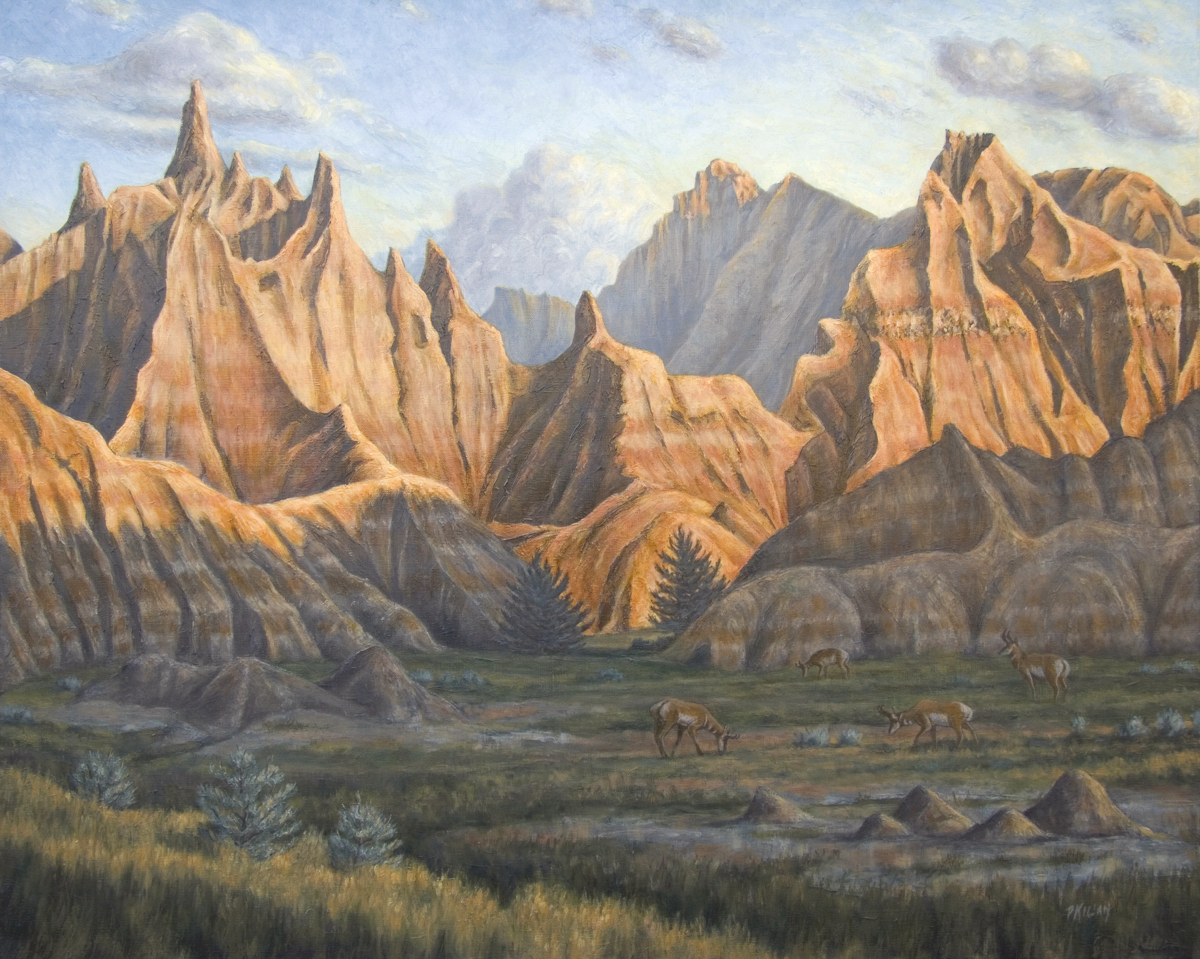 Floor of the Badlands (the Poacher's Quarry) (large view)