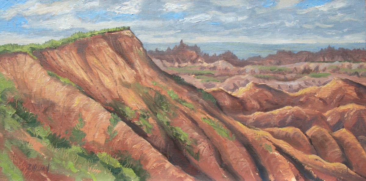 Badlands Rim (large view)