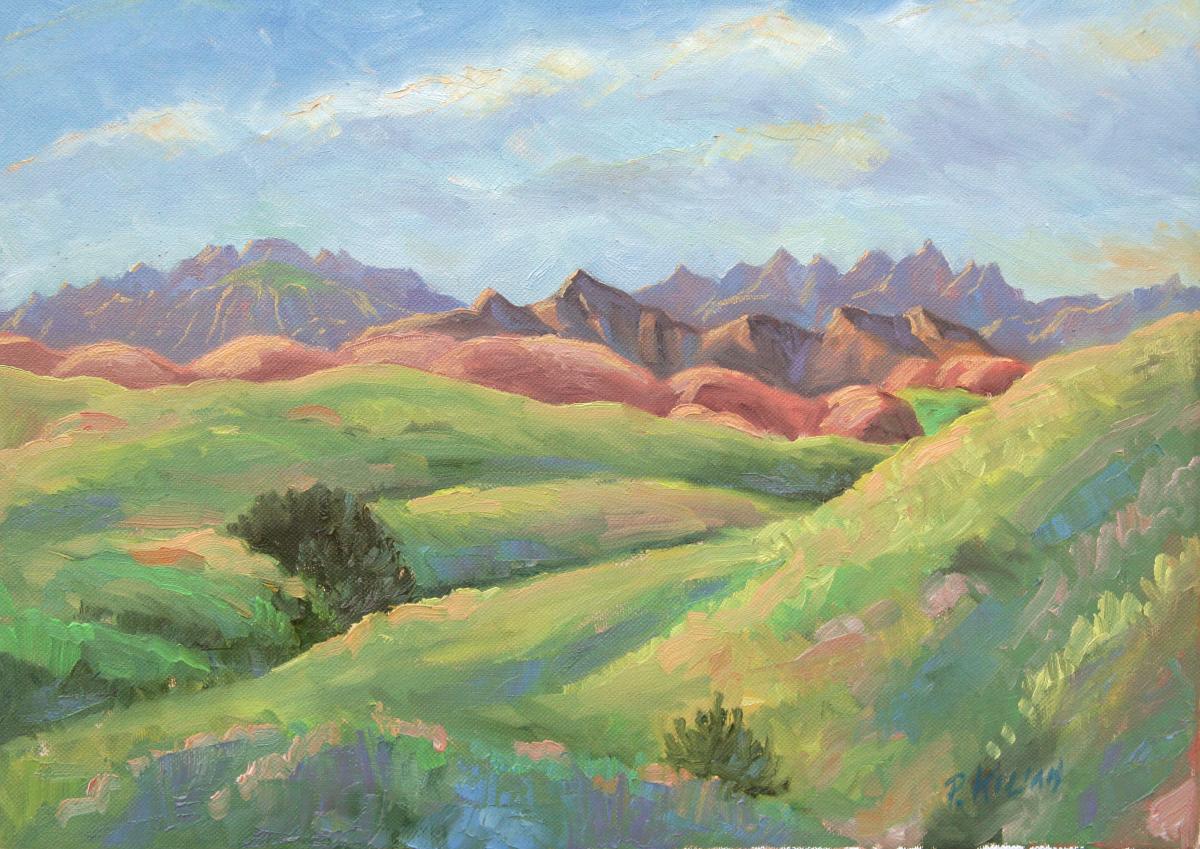 June Clover - Badlands (large view)