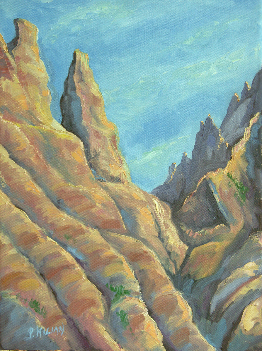 Badlands Spires (large view)