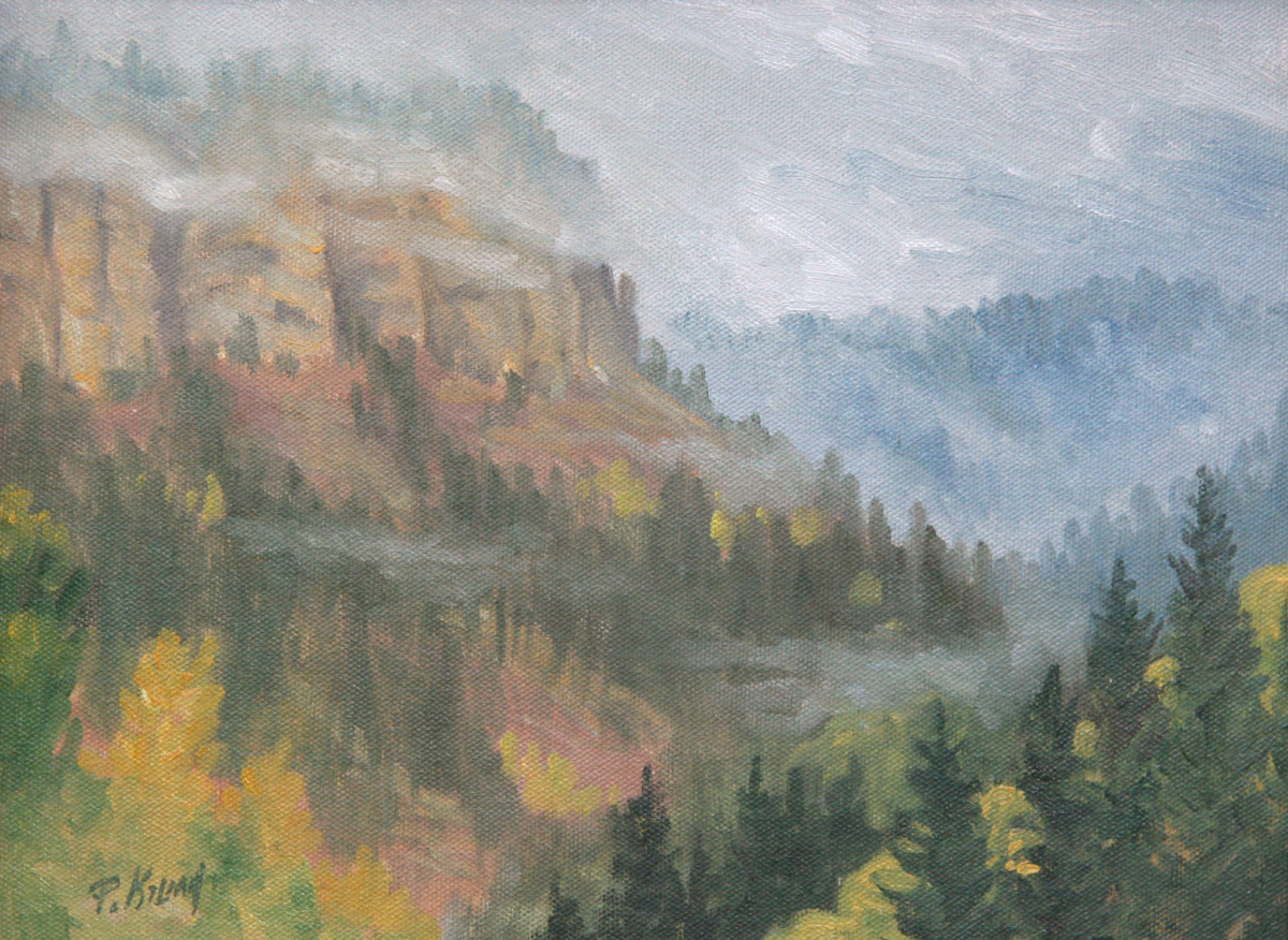 Spearfish Canyon Storm (large view)