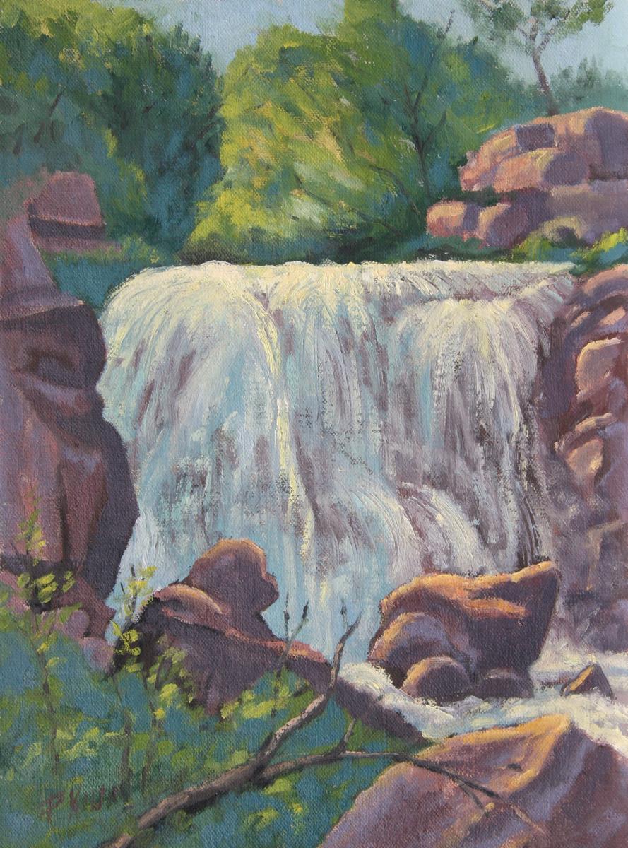 Winiwisi Falls, Pipestone, National Monument (large view)
