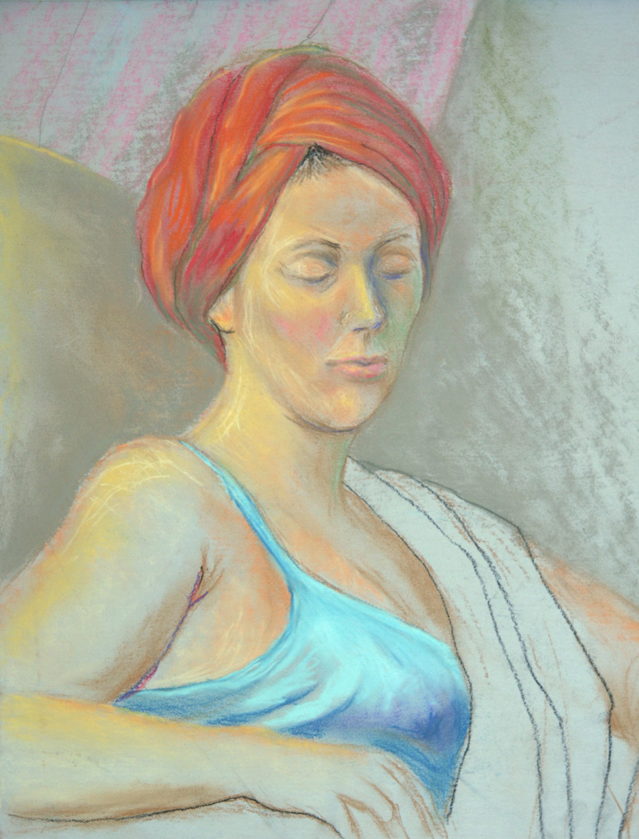 Girl in a Red Turban (large view)
