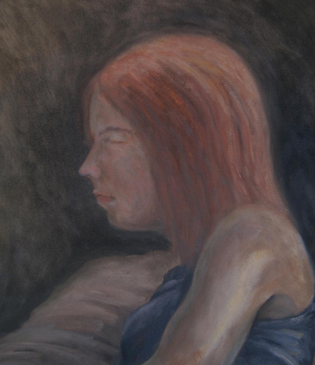 Monica Asleep (large view)
