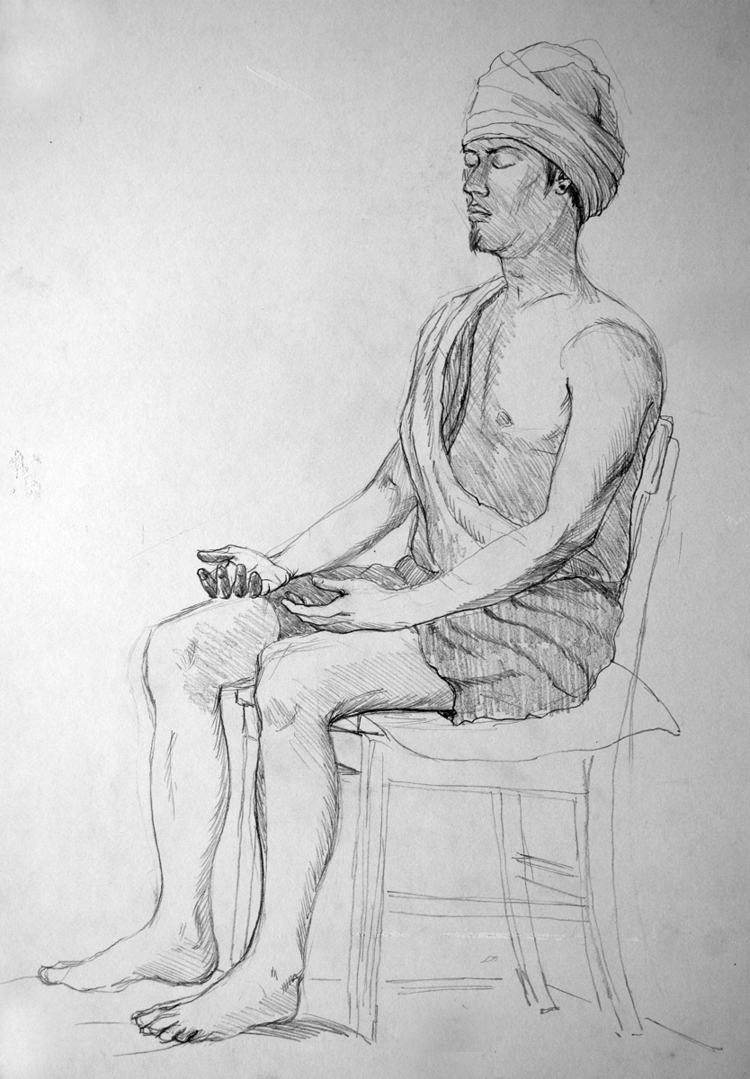 Turban Man (large view)