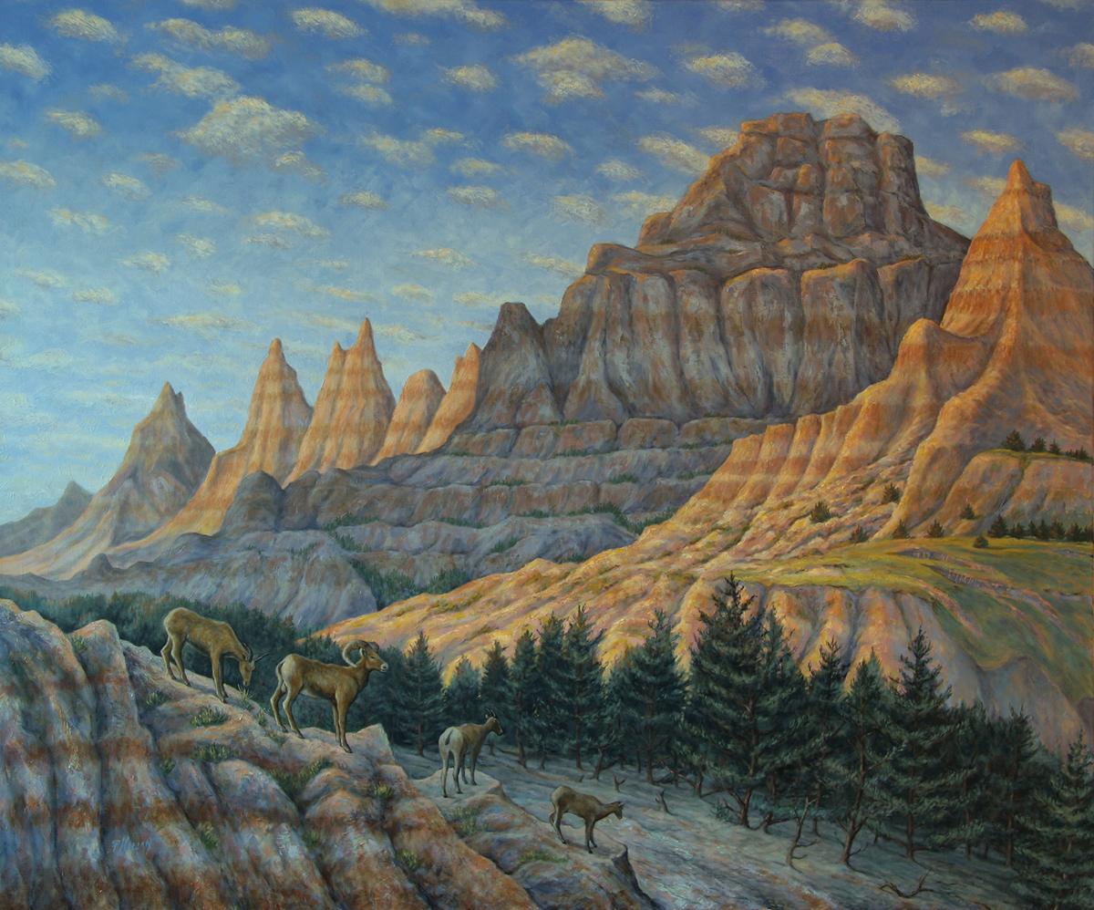 Cedar Pass Morning (large view)