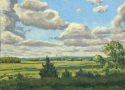 View of DeSmet, SD (Homage to Harvey Dunn) (thumbnail)
