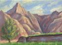 Saddleback Morning - Badlands