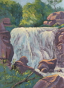 Winiwisi Falls, Pipestone, National Monument (thumbnail)