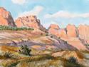 Cedar Pass - Late Afternoon (thumbnail)