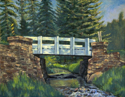The White Bridge - Upper Spring Creek (thumbnail)
