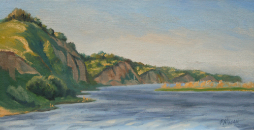 Missouri River at Springfield, SD (thumbnail)