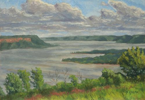 View of Lake Pepin (large view)