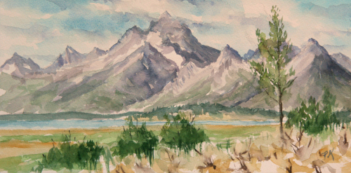 View of Grand Teton (thumbnail)