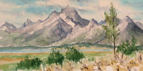 View of Grand Teton (thumbnail)
