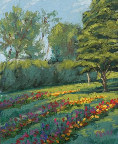 August Flower Garden (large view)