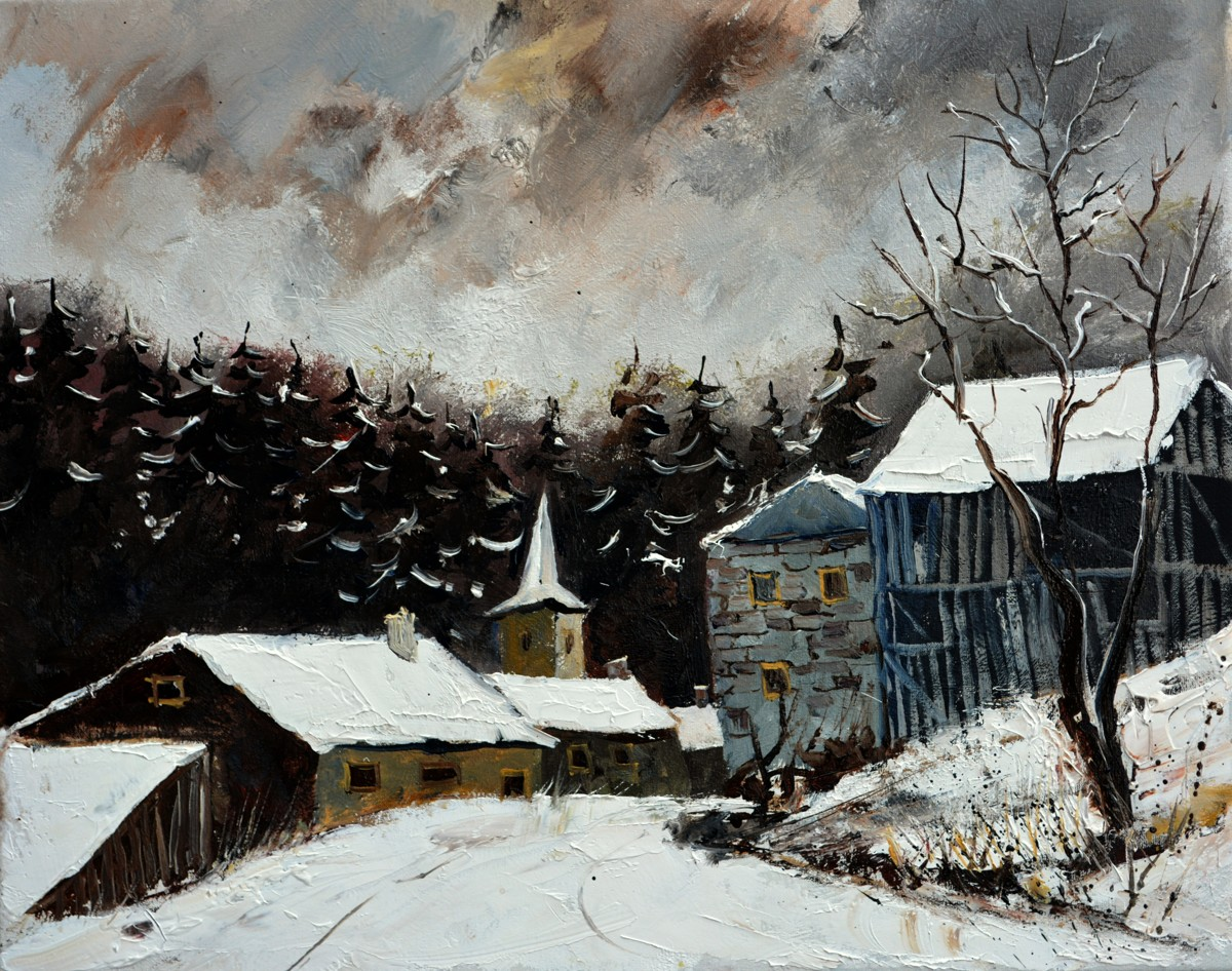 Winter in Baillamont (large view)