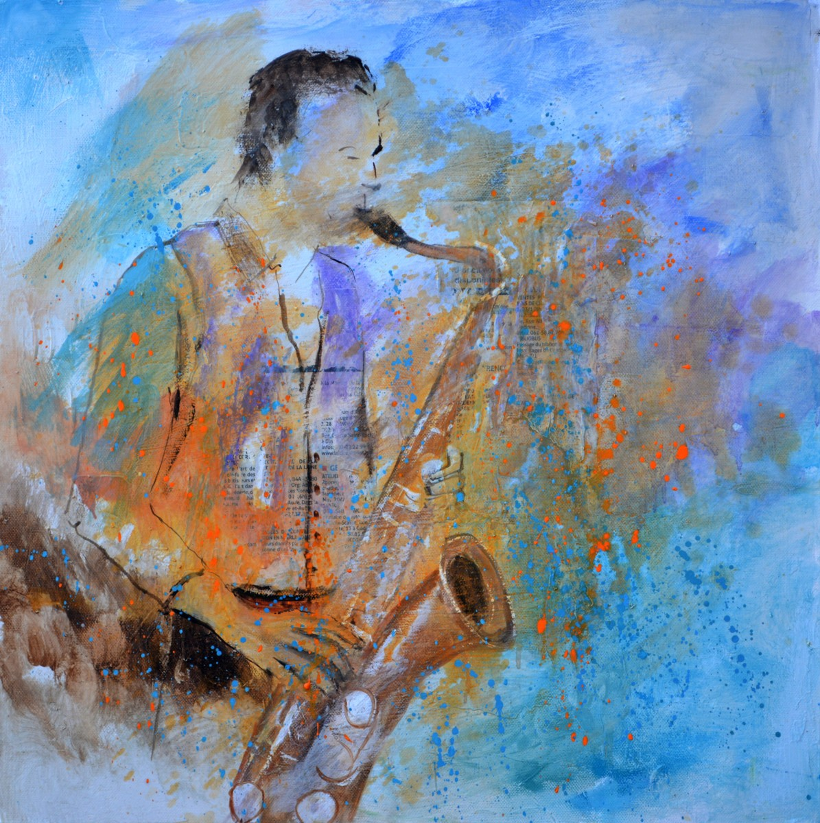 Sax player 55 (large view)