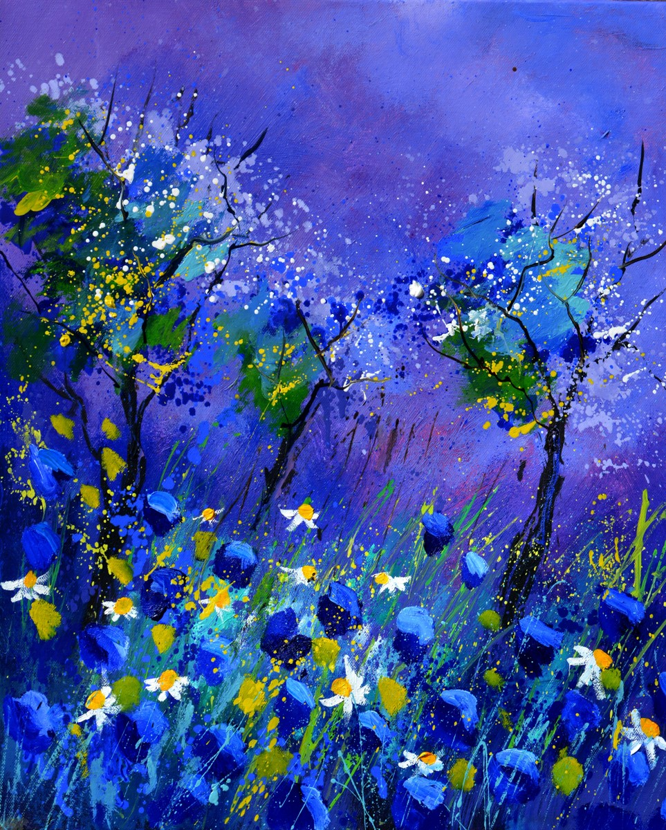 BLUE FLOWERS 567160 (large view)