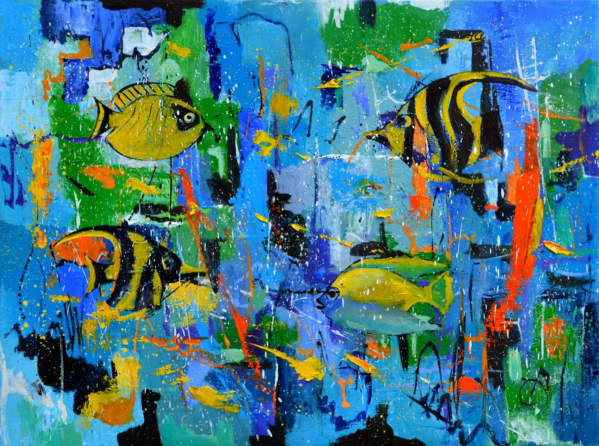 Abstract fish  (large view)