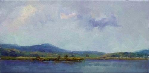 Morning View of Tupper Lake