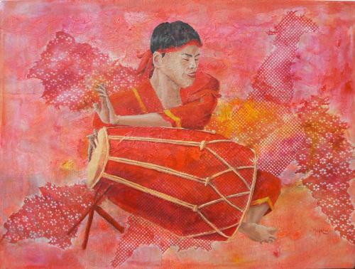 Javanese Drummer