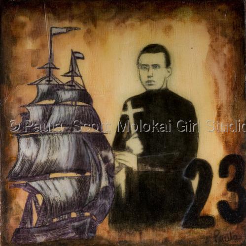 """23"" by Paula  Scott: Molokai Girl Studio"